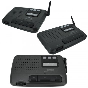 Refurbish Home or Office 3 Channel FM Wireless Intercom 3 Station Charcoal