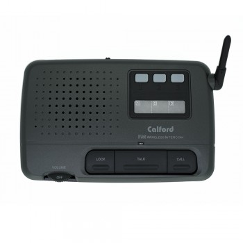 Calford Home Office 4 Channel FM Wireless Voice Intercom Charcoal 1 Station Add-on