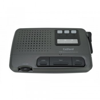 Calford 4 Channel FM Wireless Call All Intercom System Charcoal 3 Stations