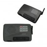 Home Office 9 Channel FM Wireless Intercom System 2 Station Charcoal