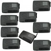 Calford Home or Office 10 Channel FM Wireless Intercom System 9 Station Charcoal
