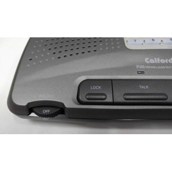 Calford Home or Office 9 Channel FM Wireless Intercom System 2 Station Charcoal