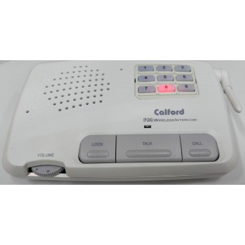 Calford Home or Office 9 Channel FM Wireless Intercom System 2 Station Beige
