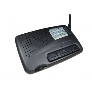 Home and Office 9 Channel FM Wireless Intercom System add-on single unit Charcoal