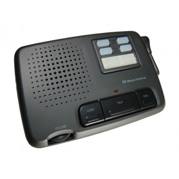 CALFORD Home or Office 4 Channel FM Wireless Voice Intercom System 2 Station Charcoal