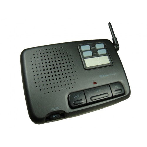 home and office 4 channel digital fm wireless intercom system 4 station. Black Bedroom Furniture Sets. Home Design Ideas