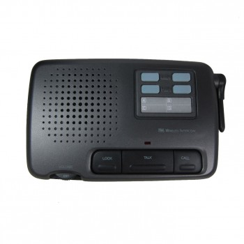CALFORD 4 Channel FM Wireless Voice Intercom System add-on 1 Station Charcoal