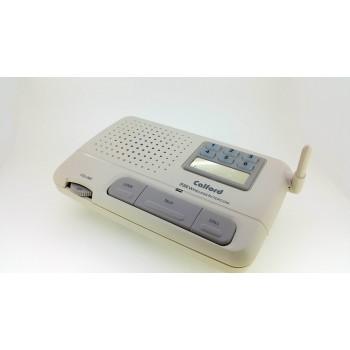 6 Channel FM Wireless Voice Home Intercom System 2 Station Beige