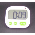 Dual allarm Desktop or Travel LCD vibration timer clock