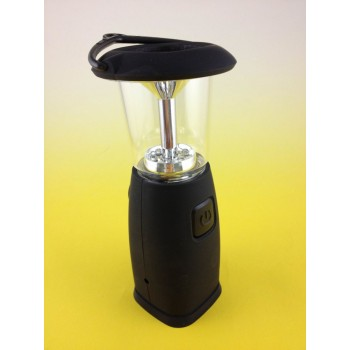 Solar Charge tent lantern 6 LED Wind-up emergency