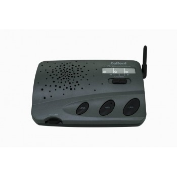 CALFORD Home or Office 3 Channel Digital FM Wireless Intercom Charcoal 2 Station