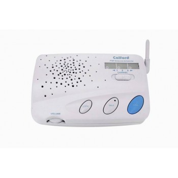 CALFORD Home or Office 3 Channel FM Wireless Voice Intercom Greyish White 2 Station