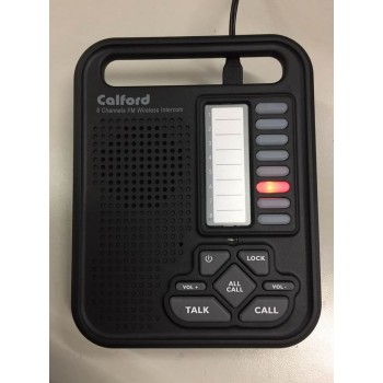 9 Channel 3 Units Wireless Call All Intercom Office Home Work for Safety Distance Quarantine