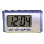 Talking Travel Desktop LCD alarm clock