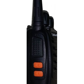 Calford UHF High Power Intelligent FM Illumination Flashlight Walkie Talkie Two-Way Radio (single unit)