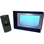 "7"" TFT Color Video Door Phone Home Wired Intercom System black"