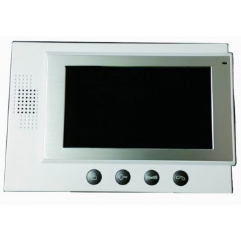 "7"" TFT Color Video Door Phone Home Wired Intercom System white"