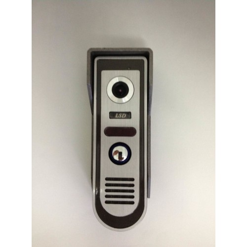 Wired intercom systems for home office intercom for Front door video intercom