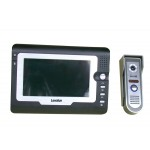 "7"" TFT LCD color video door phone/bell home wired intercom system"